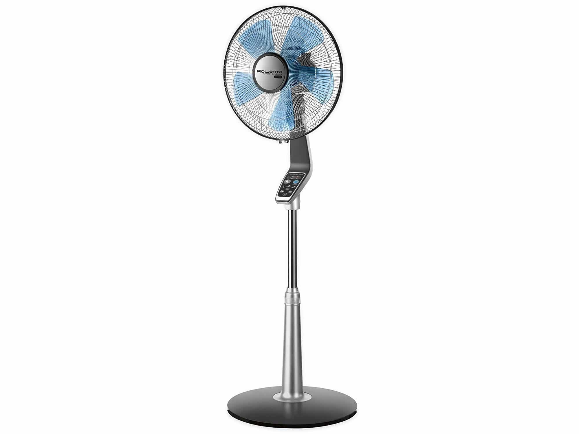 Ventilateur silencieux sur pied