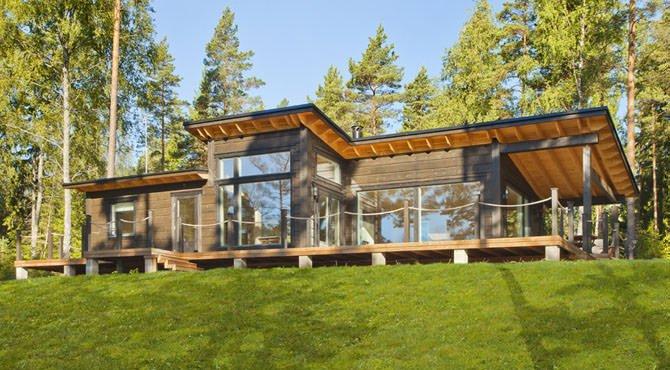 exemple maison bois