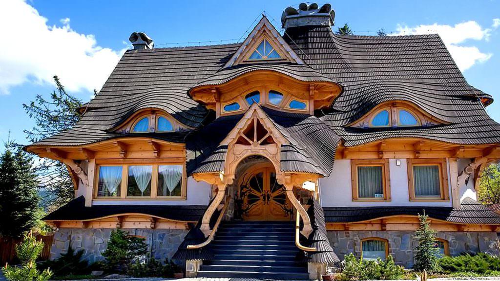 superbe maison bois