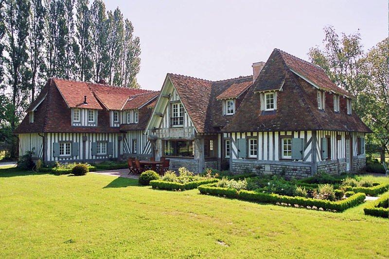 modèle maison normande