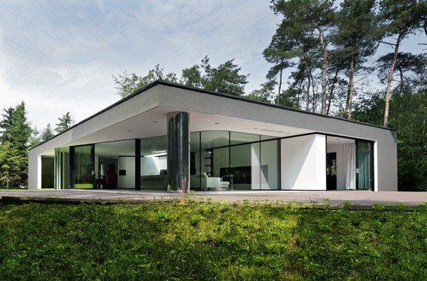 photographie maison ossature metallique