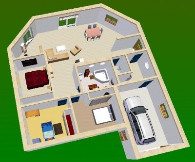 maison 3d top maison With faire plan maison 3d 10 maison contemporaine top maison