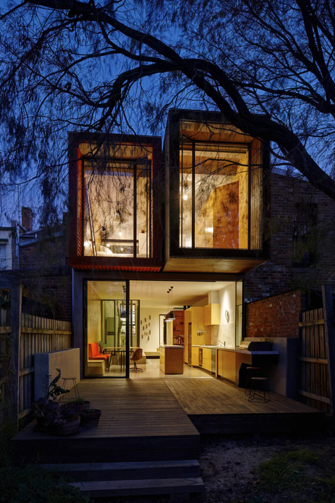 modèle maison 5m de large