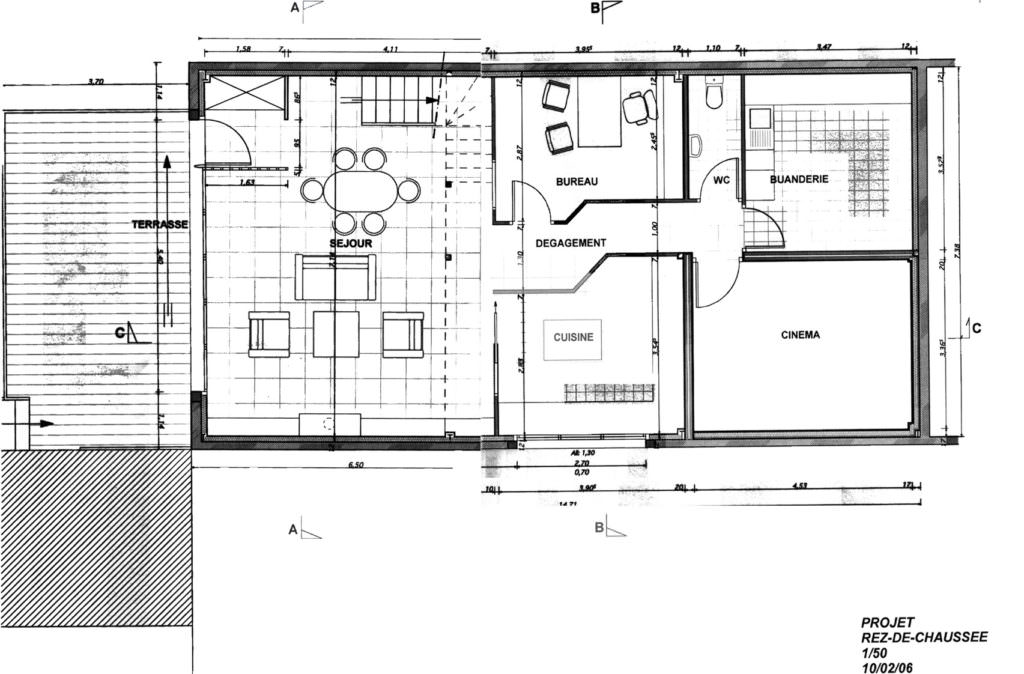 exemple maison 5m de large