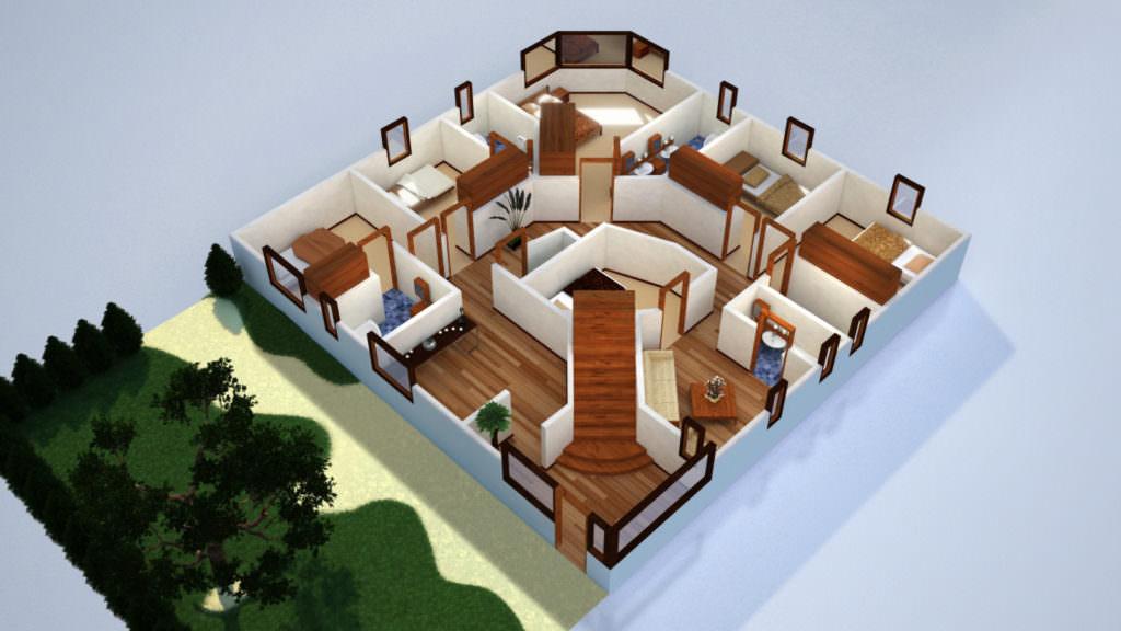 idée maison 6 chambres