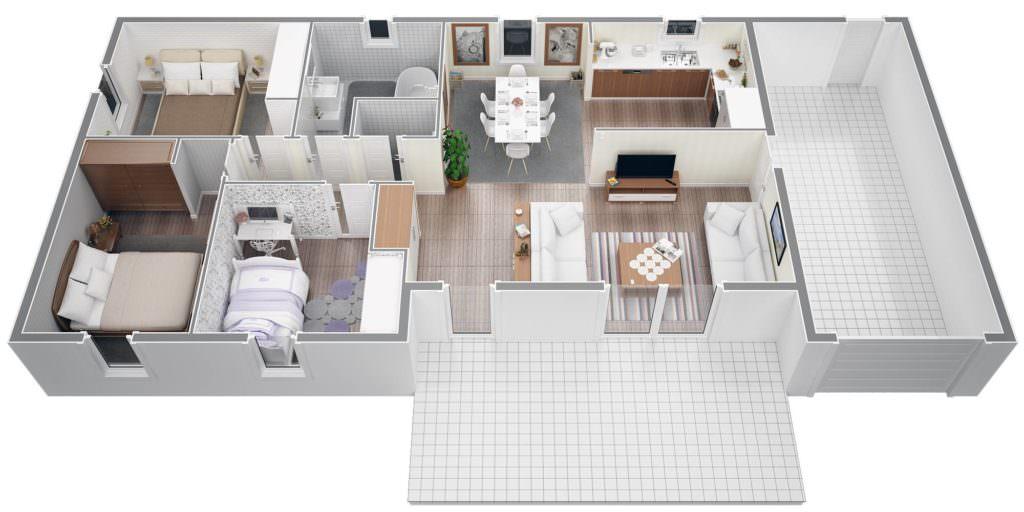photo maison 80 m2