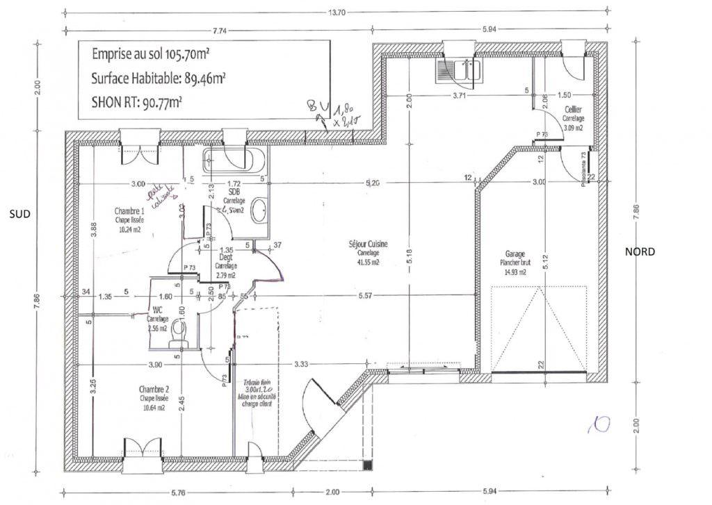 idée maison 80 m2