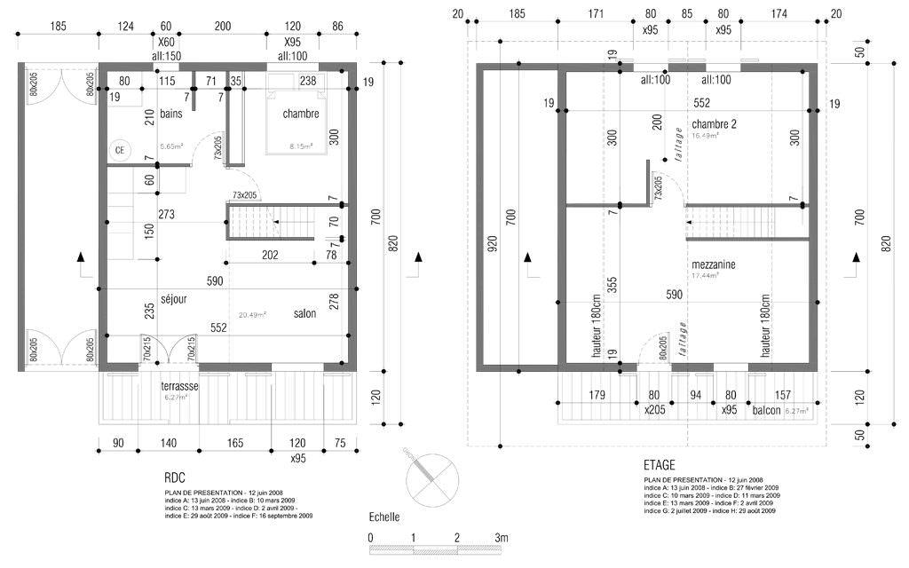 exemple maison 80 m2