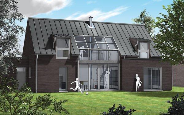 maison bioclimatique top maison. Black Bedroom Furniture Sets. Home Design Ideas
