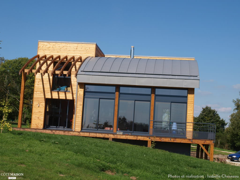 superbe maison bioclimatique