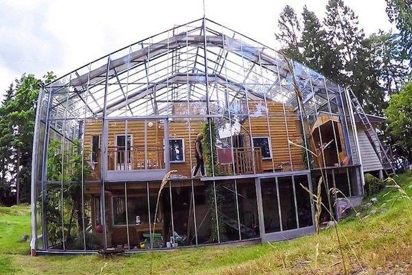 photographie maison bioclimatique