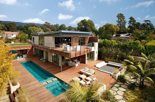 illustration maison ecologique