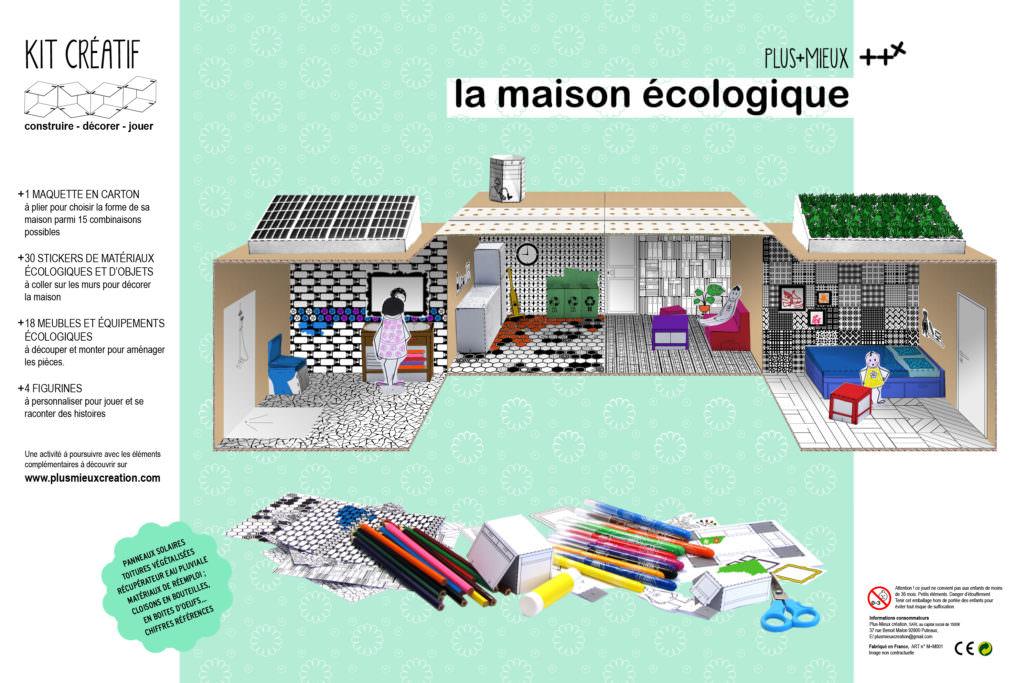 modèle maison ecologique