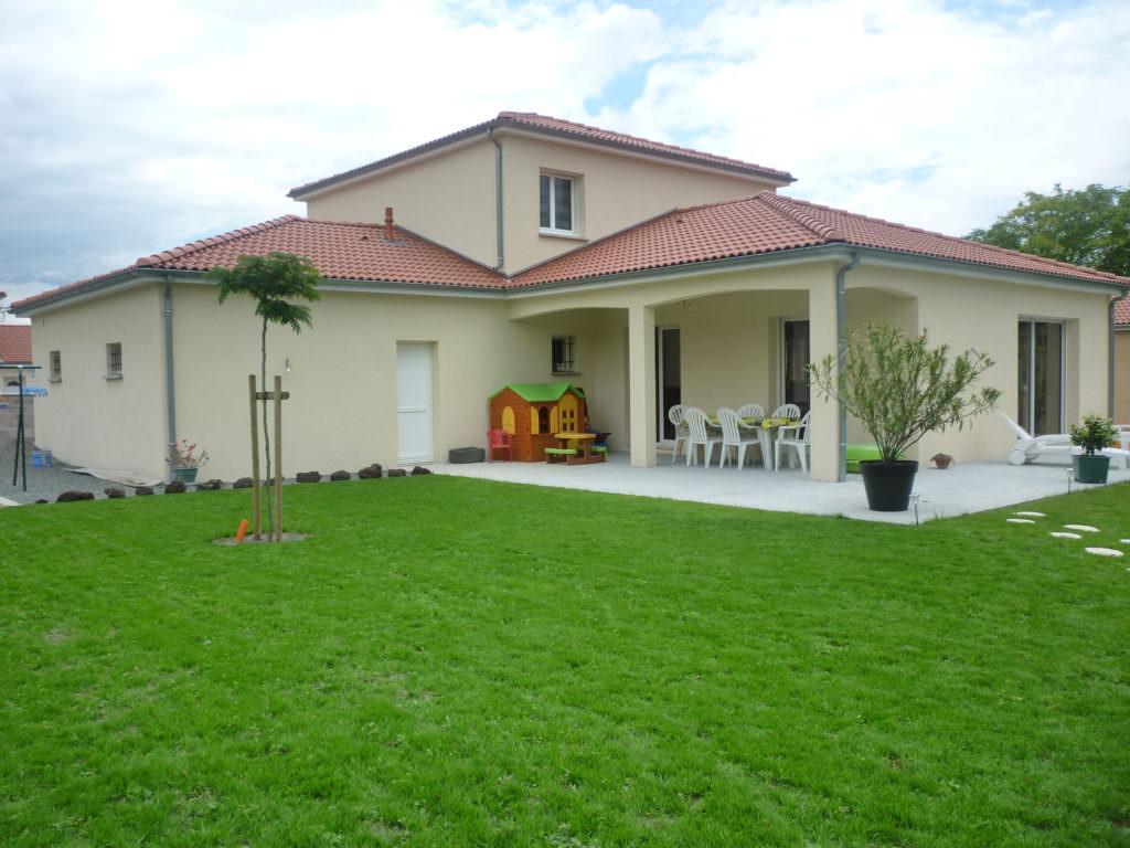 photo maison et jardin