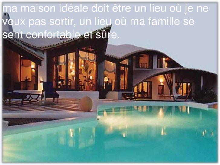 modèle maison ideale