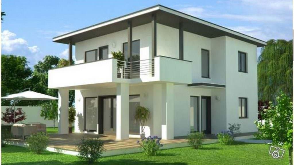 modèle maison moderne