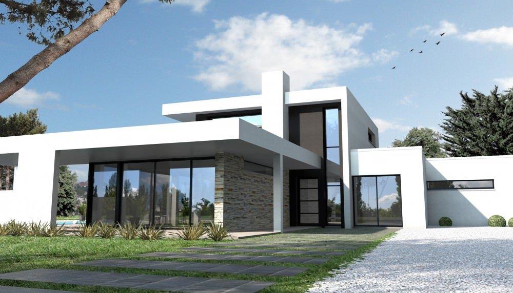 superbe maison moderne