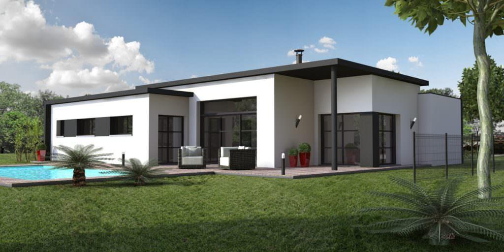 photo maison moderne