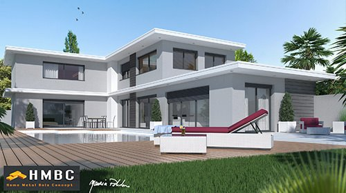 Maison moderne top maison for Plan villa moderne 200m2