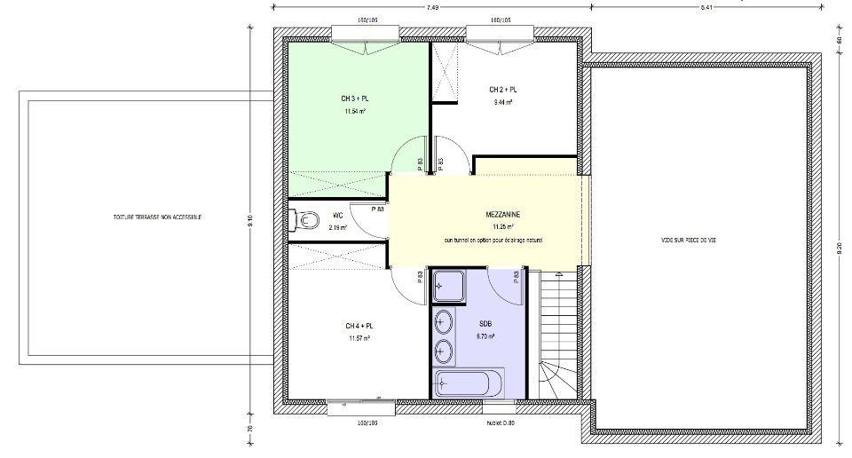 image maison 140 m2