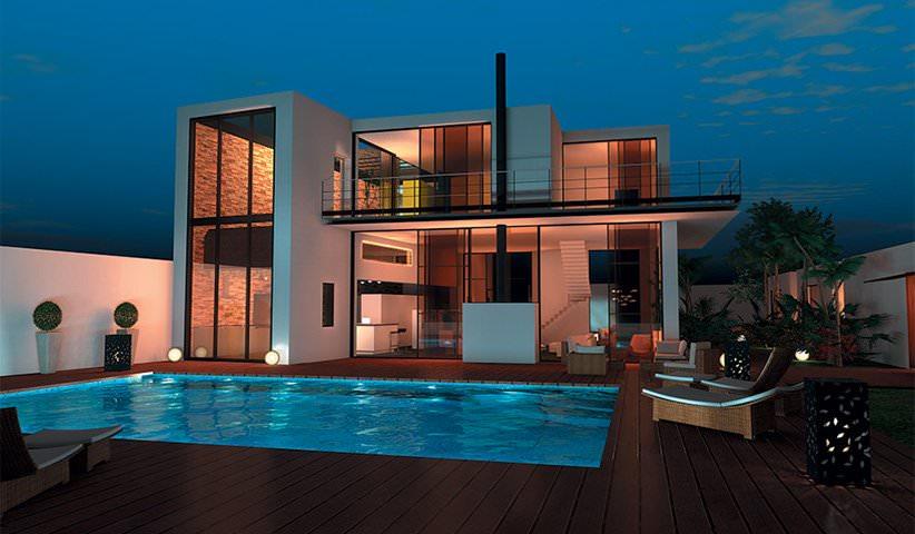 modèle maison 250m2