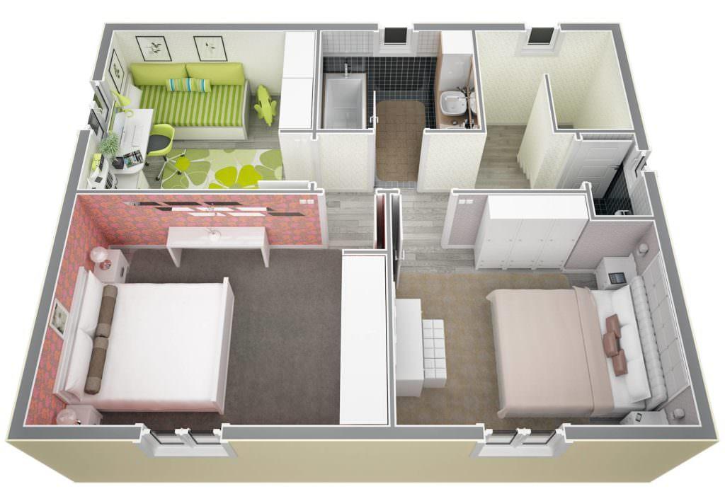 idée maison 40m2