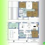 illustration maison 6 chambres plan