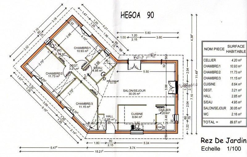 visualiser maison 90m2