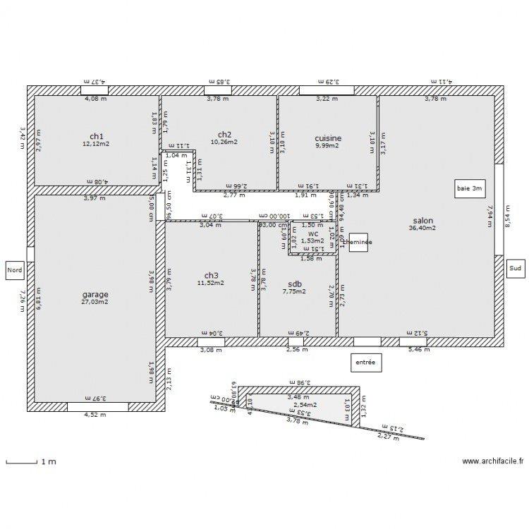 visualiser maison 95m2