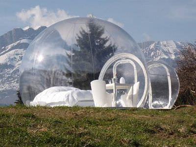 photo maison bulle