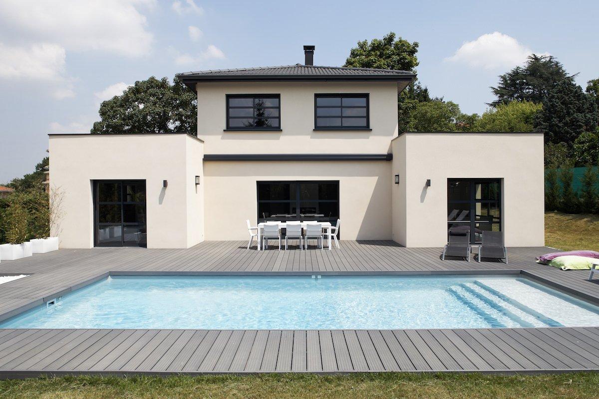 Maison Ossature Métallique Contemporaine maison contemporaine   top maison