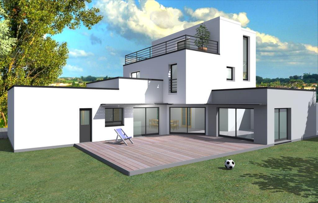 idée maison cubique