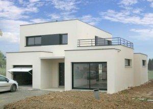 modèle maison cubique
