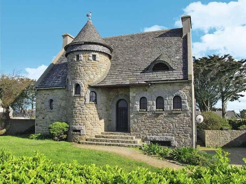 photographie maison en pierre