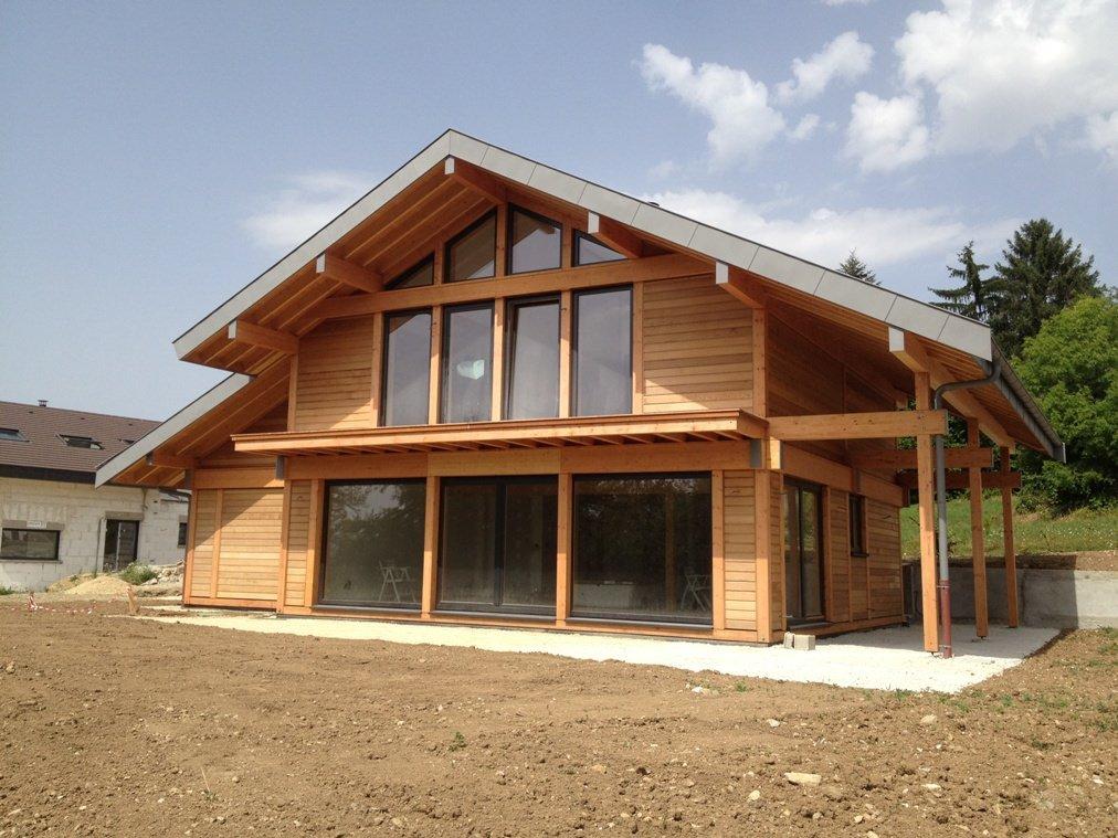 idée maison ossature bois