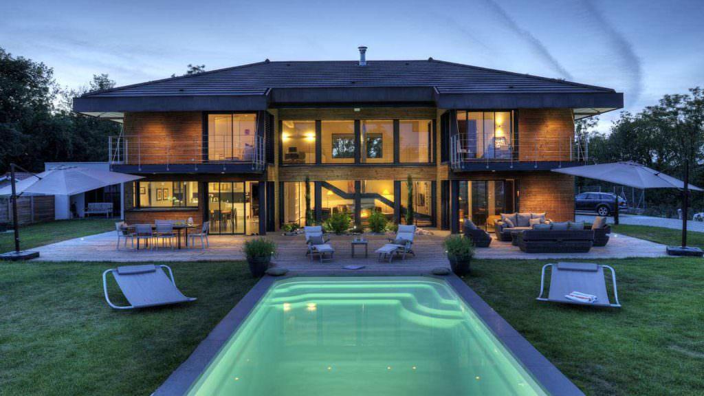 modèle maison ossature bois