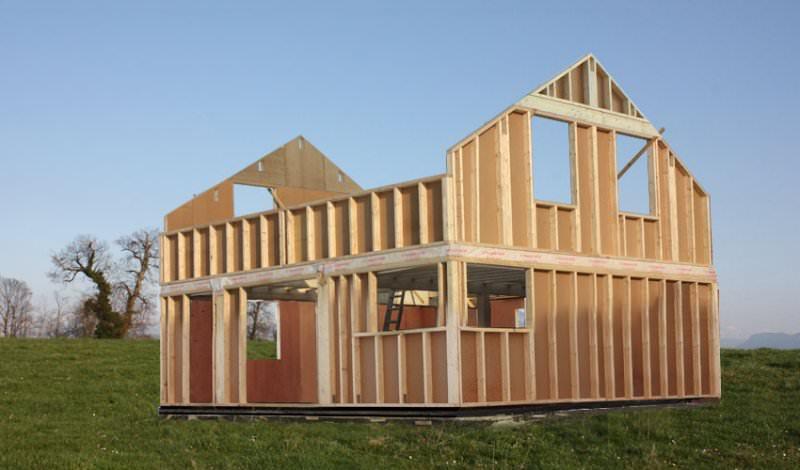 superbe maison ossature bois