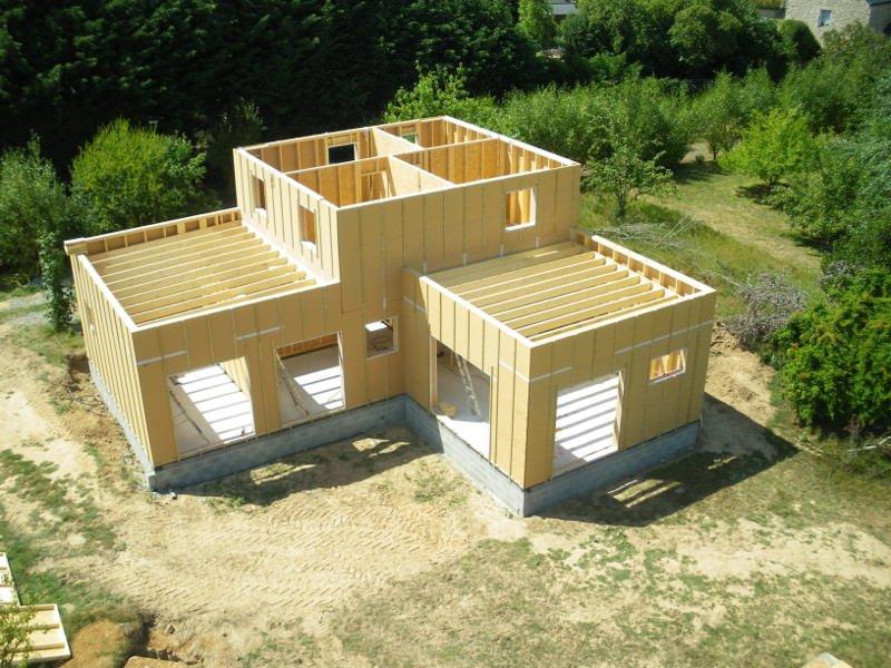 superbe maison ossature bois kit