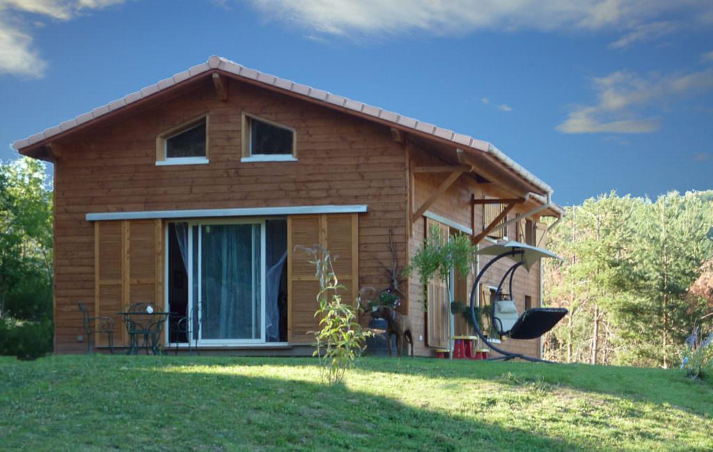 visualiser maison ossature bois kit