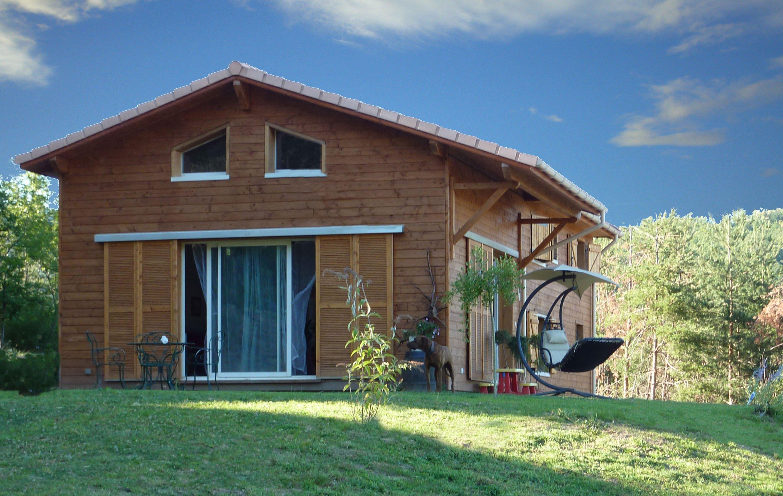 Maison ossature bois kit top maison for Maison kit ossature metallique