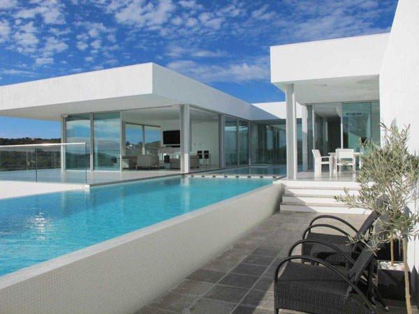 modèle maison ultra moderne