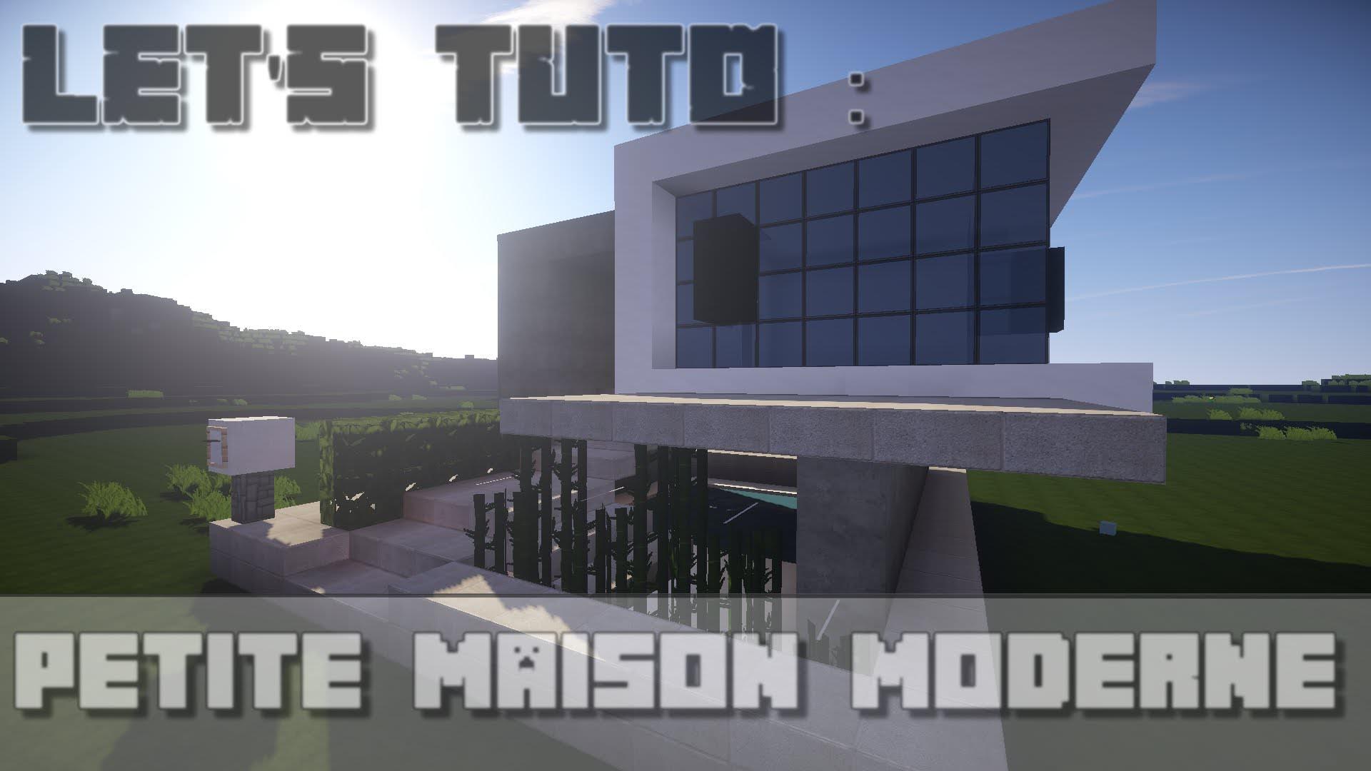 Maison Ultra Moderne Minecraft Avec Best Maison De Luxe – AGCReWall