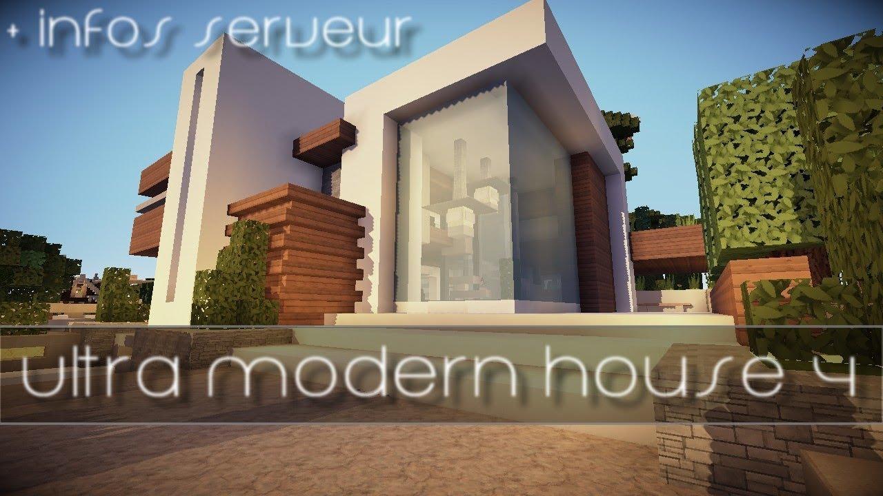 Maison ultra moderne top maison for Constructeur maison ultra moderne