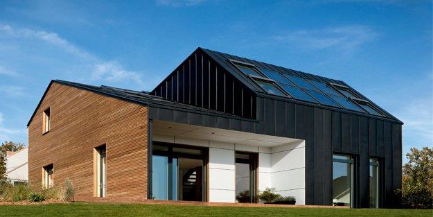 Maison zinc top maison for Maison moderne zinc