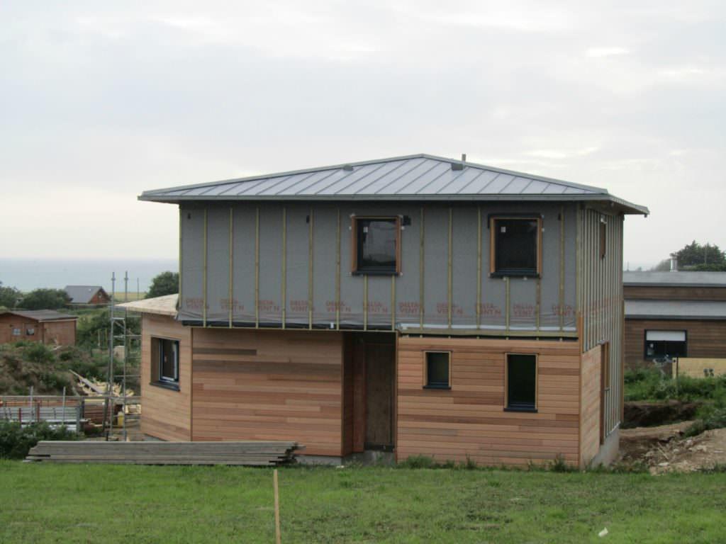 photo maison zinc