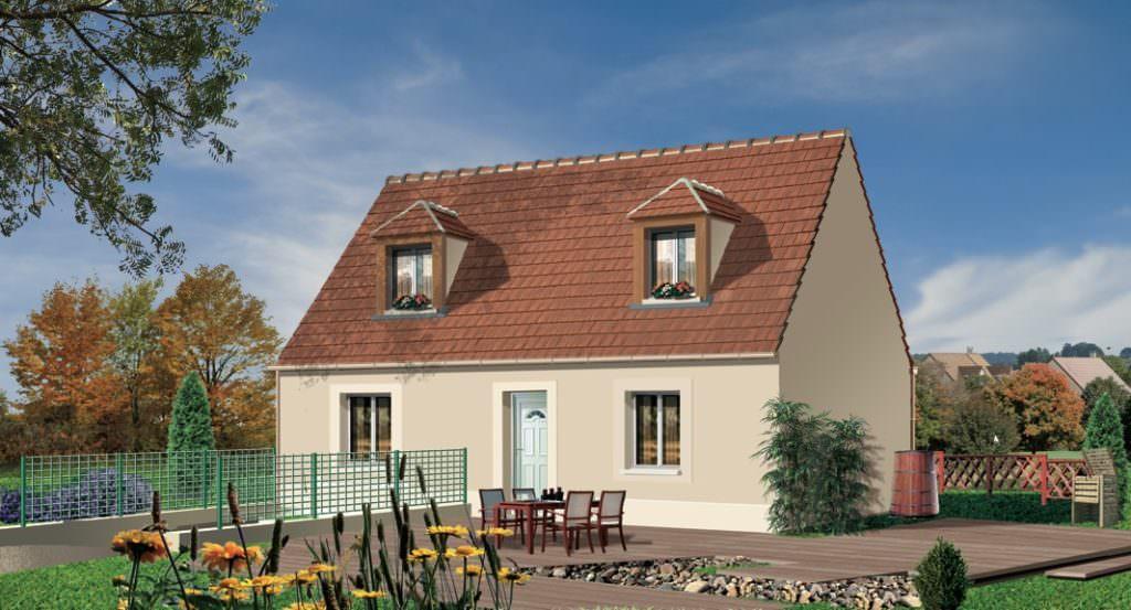 modèle maison 100 000 euros