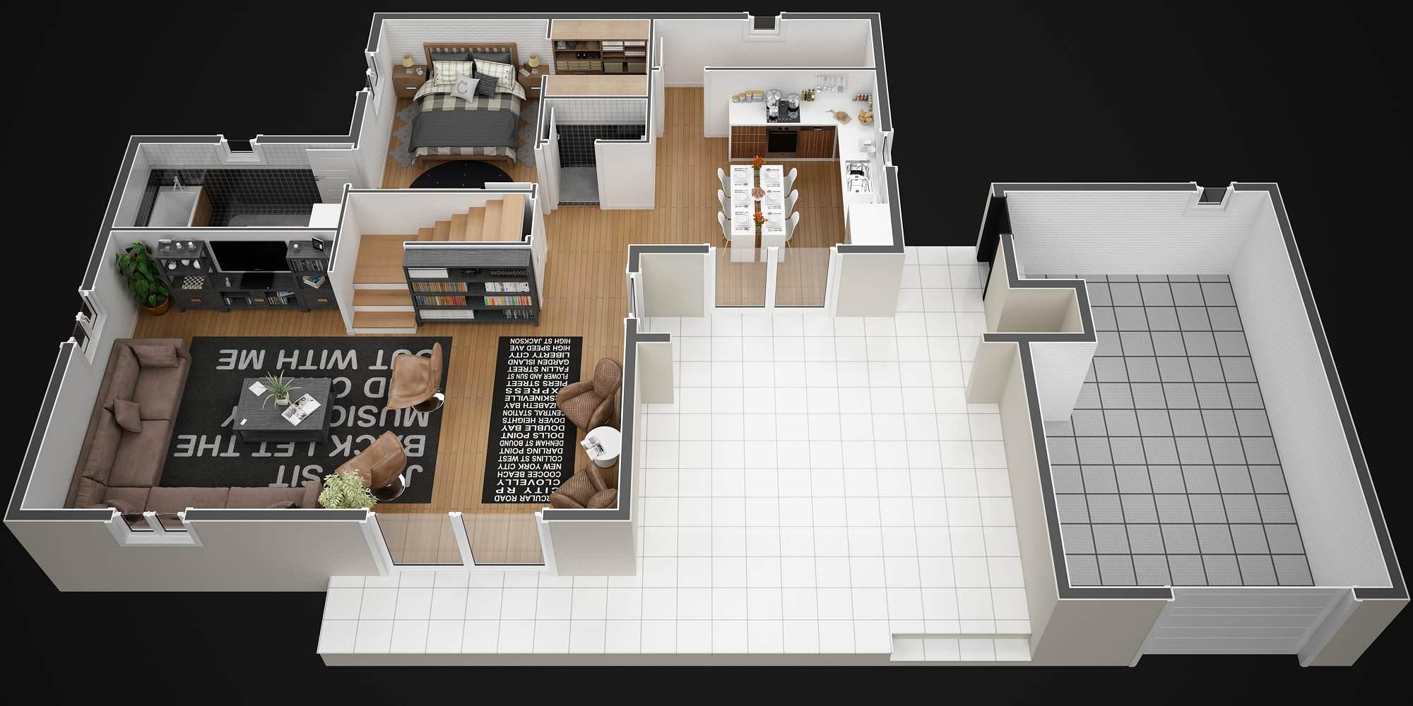maison 120m2 top maison. Black Bedroom Furniture Sets. Home Design Ideas
