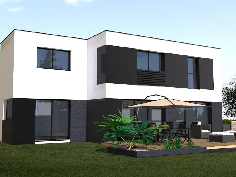 Maison contemporaine 120m2 nw28 jornalagora for Plan de maison 120m2