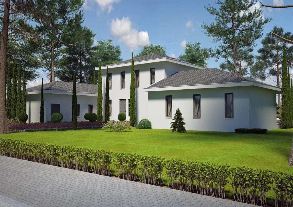 modèle maison 150 m2