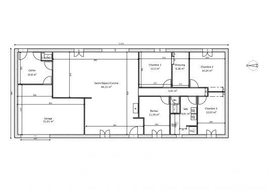 photographie maison 150 m2